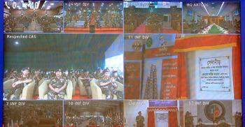 পাঁচ সেনানিবাসে বিভিন্ন স্থাপনার উদ্বোধন করলেন সেনাপ্রধান