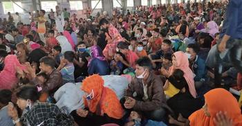 'মিয়ানমার তাড়িয়ে দিয়েছে বাংলাদেশ ঠাঁই দিয়েছে, আমরা কৃতজ্ঞ'
