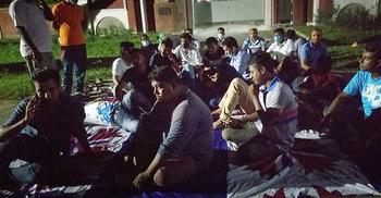 আমরণ অনশনের ঘোষণা রাবির 'অস্থায়ী' নিয়োগপ্রাপ্তদের