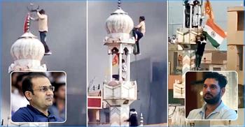 বিক্ষোভ-সংঘাতে বিধ্বস্ত দিল্লি, শান্তির ডাক শেবাগ-যুবরাজদের