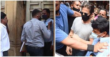 Aryan Khan drugs case: NCB at Shah Rukh Khan's Mannat
