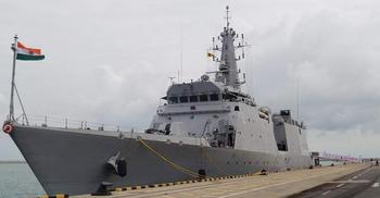 মোংলায় আসছে ভারতীয় দুটি যুদ্ধজাহাজ