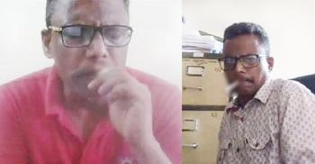 অনলাইন ক্লাসে শাবিপ্রবি শিক্ষকের ধূমপানের ছবি ভাইরাল