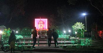 বিজয়ের বর্ণিল সাজে শাবি ক্যাম্পাস