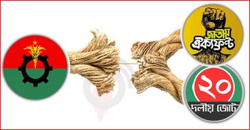 ২০ দল-ঐক্যফ্রন্ট এড়িয়ে যুগপৎ আন্দোলনের ছক বিএনপির