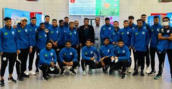 উজবেকিস্তানে বাংলাদেশ অনূর্ধ্ব-২৩ ফুটবল দল