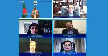 ইউএস-বাংলাদেশ বিজনেস কাউন্সিল উদ্বোধন করলেন প্রধানমন্ত্রী