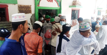 পটুয়াখালীর বদরপুর দরবার শরীফে ঈদের জামাত | ১২ মে ২০২১