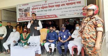 প্রাকৃতিক দুর্যোগ মোকাবিলায় সরকার সফল: খালিদ মাহমুদ