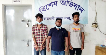 কুমিল্লায় চিকিৎসকের ওপর হামলার ঘটনায় তিনজন কারাগারে