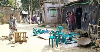শাল্লায় সংখ্যালঘু নির্যাতনে জড়িদের বিচার দাবি
