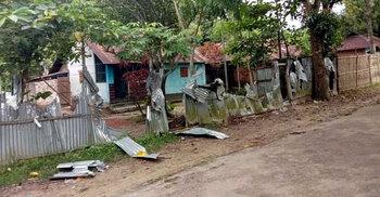চা বাগানে দু'পক্ষের সংঘর্ষে নারীসহ আহত ৬, বন্ধ কাজ