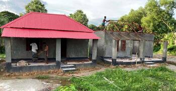 উপহারের ঘরের টিন-কাঠ চুরি, থানায় মামলা