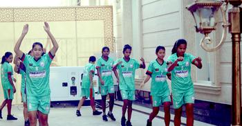 উজবেকিস্তান সফরের শেষটা ভালো চায় নারী ফুটবল দল