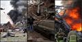 বৈরুতে বিস্ফোরণ, 'নারকীয় ধ্বংসযজ্ঞ' বলছেন প্রত্যক্ষদর্শীরা
