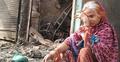 দিল্লির দাঙ্গা: দোকান-বাড়ি পুড়ে ছাই, ডুকরে কাঁদছেন বিলকিস বানু