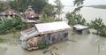 পটুয়াখালীতে আজও উত্তাল সাগর, বইছে ঝড়ো হাওয়া
