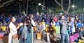 ভিসির বাসার সামনে মুখোমুখি অবস্থানে পুলিশ-আন্দোলনকারী
