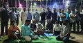 ঠাকুরগাঁওয়ে সাংবাদিক তানুকে গ্রেফতারের প্রতিবাদে মানববন্ধন