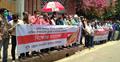 সাংবাদিক রোজিনার মুক্তির দাবিতে চট্টগ্রামে বিক্ষোভ