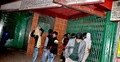 মগবাজারের পিয়াসী বার ঘিরে রেখেছে পুলিশ